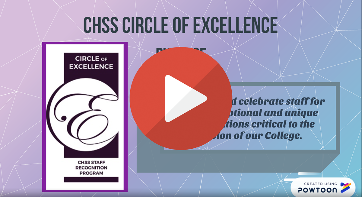 CHSS Circle of Excellence video preview