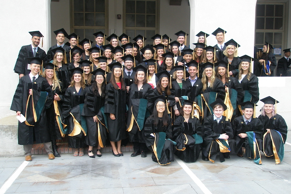 Physical Therapy graduating class