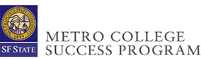 Metro College Success Program logo