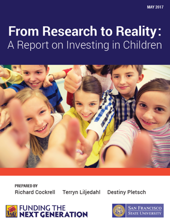 Funding the Next Generation report cover