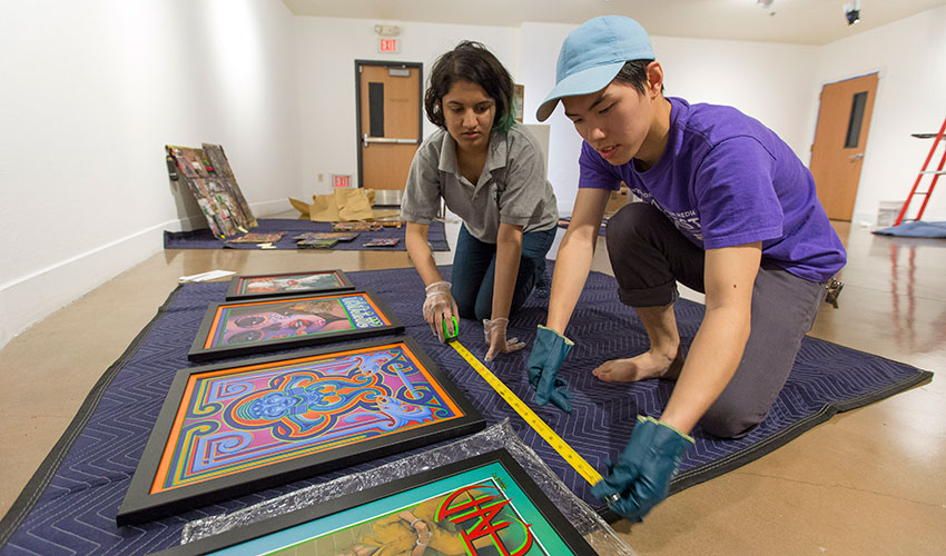 Students prepare exhibition for Project Rebound's 50th anniversary